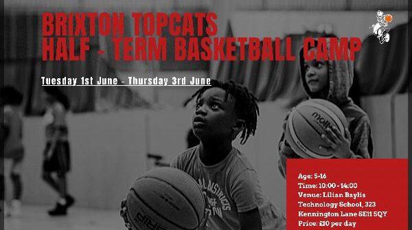 Brixton Topcats Half-Term Camp - June 2021